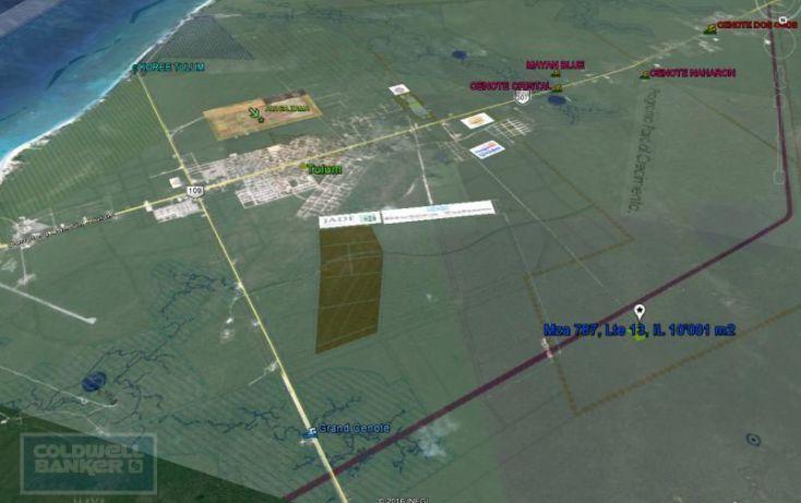 Foto de terreno habitacional en venta en av tulum 319, tulum centro, tulum, quintana roo, 328910 no 06