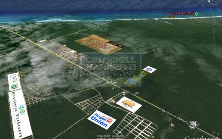 Foto de terreno habitacional en venta en av tulum 913, tulum centro, tulum, quintana roo, 328913 no 02