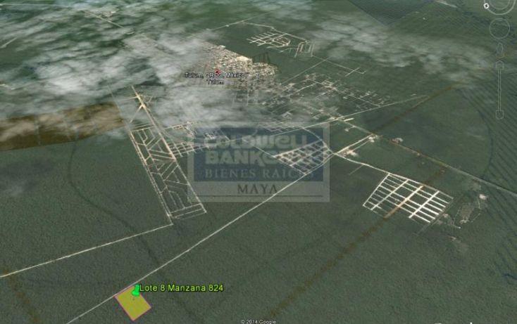 Foto de terreno habitacional en venta en av tulum mza 69, lote 2 913, tulum centro, tulum, quintana roo, 328897 no 01