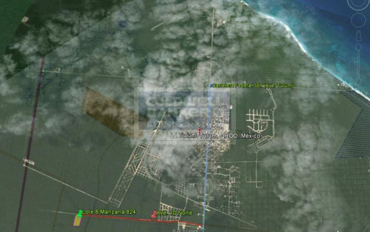Foto de terreno habitacional en venta en av tulum mza 69, lote 2 913, tulum centro, tulum, quintana roo, 328897 no 04