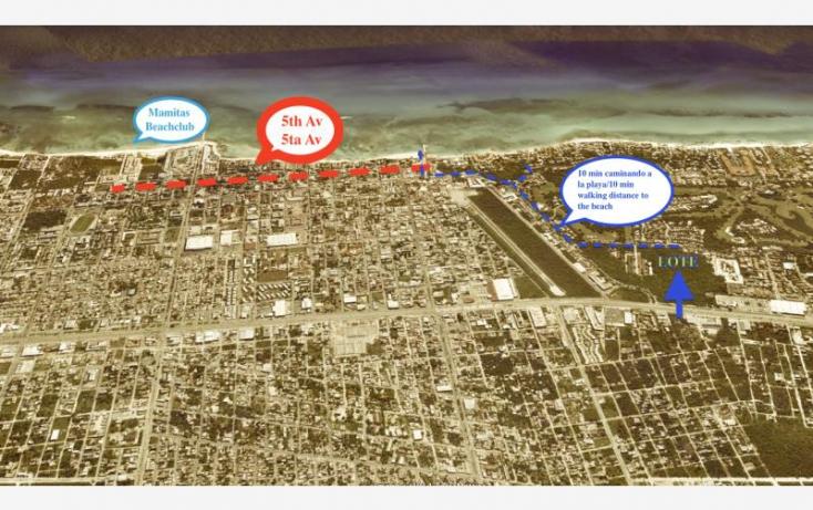 Foto de terreno habitacional en venta en av xaman ha, playa car fase i, solidaridad, quintana roo, 402967 no 02