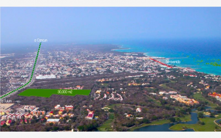 Foto de terreno habitacional en venta en av xaman ha, playa car fase i, solidaridad, quintana roo, 402967 no 04