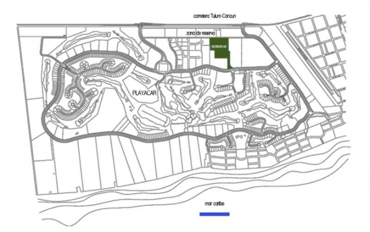 Foto de terreno habitacional en venta en av xaman ha, playa car fase i, solidaridad, quintana roo, 402967 no 07