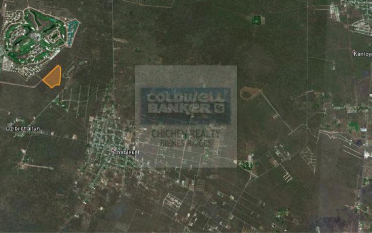 Foto de terreno habitacional en venta en av ycc, chablekal, mérida, yucatán, 1754720 no 03