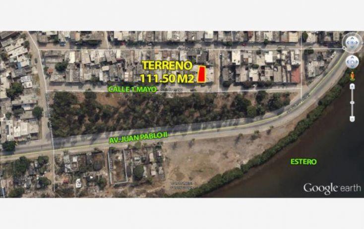 Foto de terreno habitacional en venta en ave primero de mayo 2, 12 de mayo, mazatlán, sinaloa, 1688800 no 02