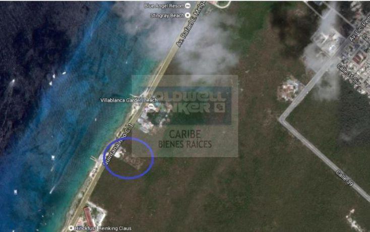 Foto de terreno habitacional en venta en ave rafael melgar sur 32, zona hotelera sur, cozumel, quintana roo, 1504189 no 02
