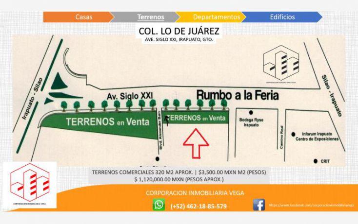 Foto de terreno comercial en venta en ave siglo xxi, el carrizalito, irapuato, guanajuato, 1329035 no 02