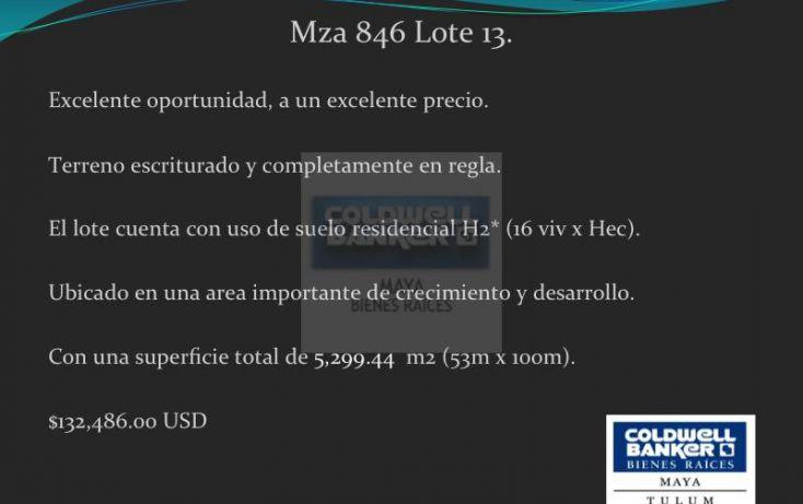 Foto de terreno habitacional en venta en ave tulum 913, tulum centro, tulum, quintana roo, 1426961 no 02