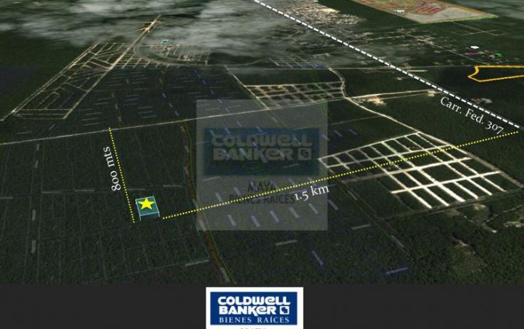 Foto de terreno habitacional en venta en ave tulum 913, tulum centro, tulum, quintana roo, 1426961 no 03