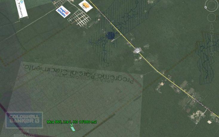 Foto de terreno habitacional en venta en ave tulum 913, tulum centro, tulum, quintana roo, 1659843 no 02