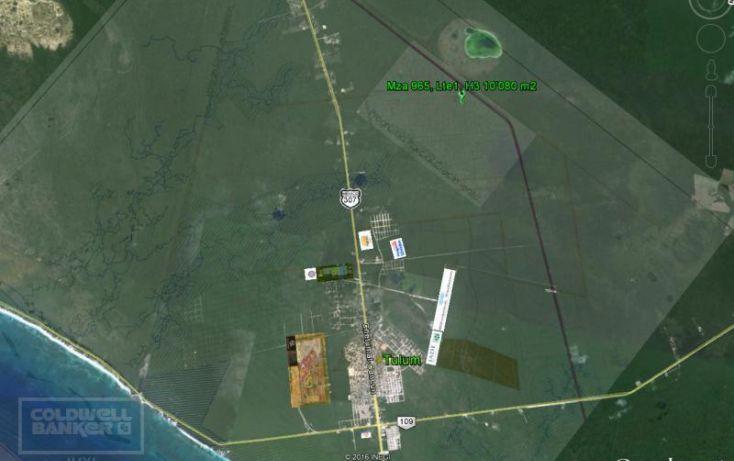 Foto de terreno habitacional en venta en ave tulum 913, tulum centro, tulum, quintana roo, 1659843 no 06