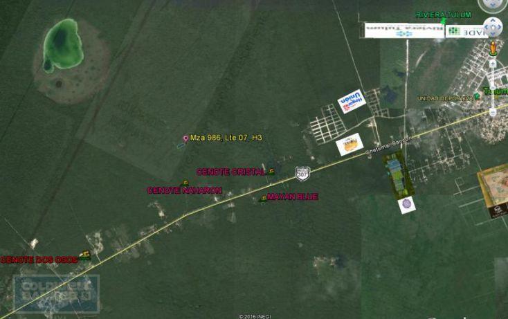 Foto de terreno habitacional en venta en ave tulum 913, tulum centro, tulum, quintana roo, 1659895 no 01