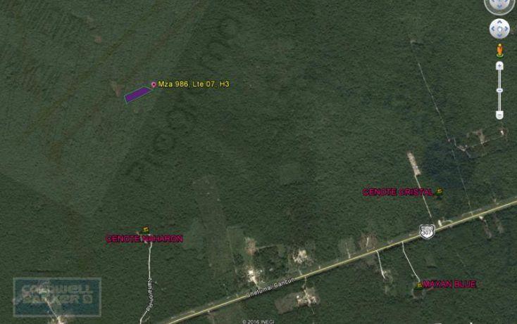 Foto de terreno habitacional en venta en ave tulum 913, tulum centro, tulum, quintana roo, 1659895 no 02