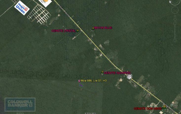 Foto de terreno habitacional en venta en ave tulum 913, tulum centro, tulum, quintana roo, 1659895 no 03