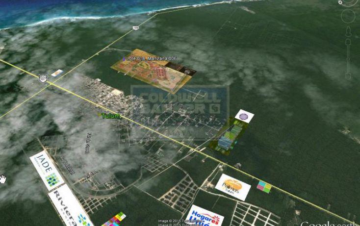 Foto de terreno habitacional en venta en ave tulum 913, tulum centro, tulum, quintana roo, 714523 no 02