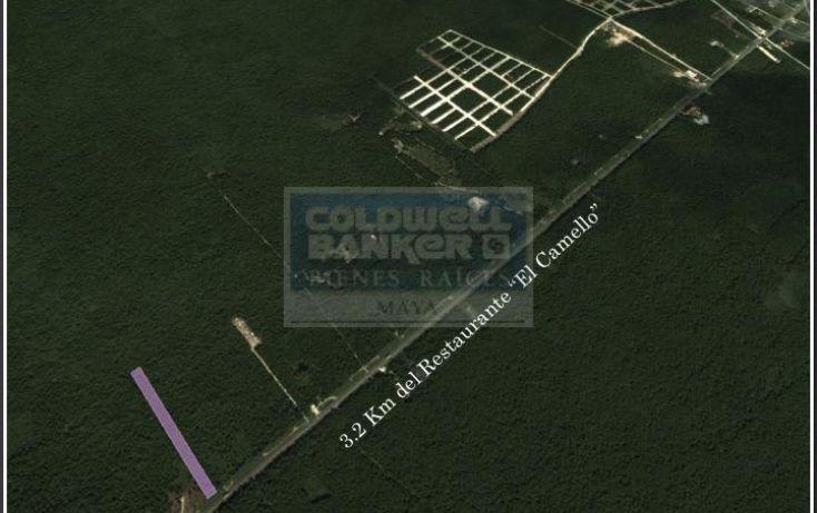 Foto de terreno habitacional en venta en ave tulum oriente, tulum centro, tulum, quintana roo, 586838 no 02