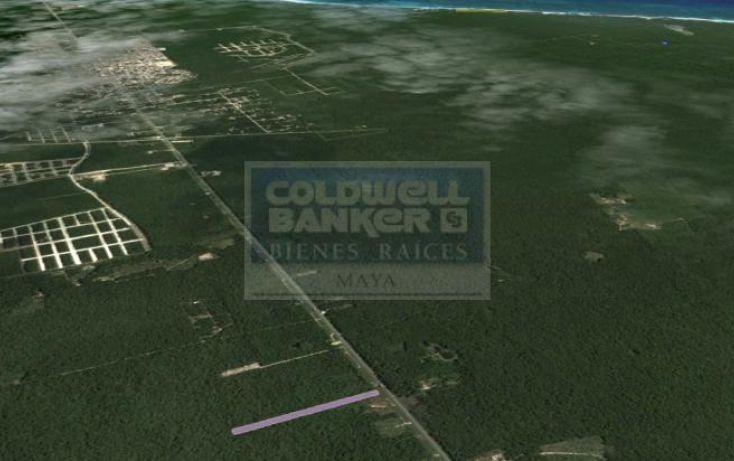 Foto de terreno habitacional en venta en ave tulum oriente, tulum centro, tulum, quintana roo, 586838 no 03