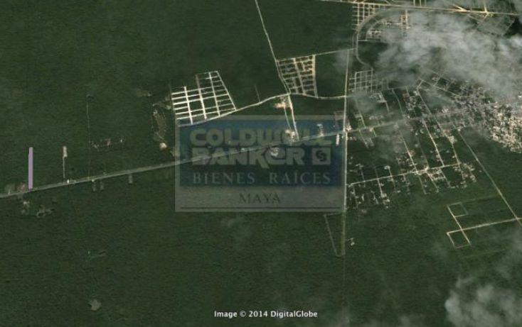 Foto de terreno habitacional en venta en ave tulum oriente, tulum centro, tulum, quintana roo, 586838 no 05