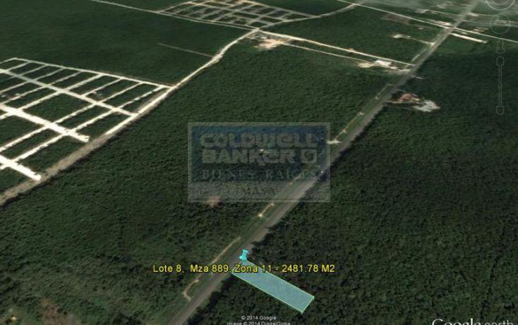 Foto de terreno habitacional en venta en ave tulum ote 913, tulum centro, tulum, quintana roo, 586847 no 02