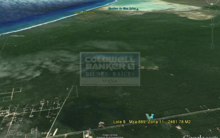 Foto de terreno habitacional en venta en ave tulum ote 913, tulum centro, tulum, quintana roo, 586847 no 03