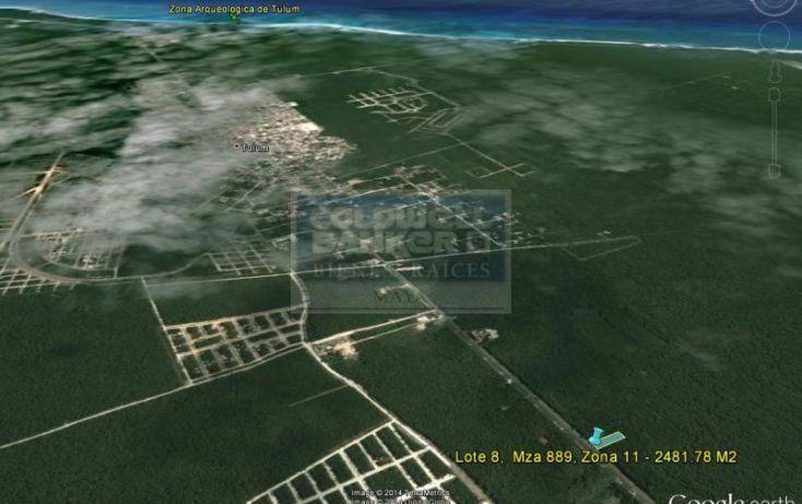 Foto de terreno habitacional en venta en ave tulum ote 913, tulum centro, tulum, quintana roo, 586847 no 05