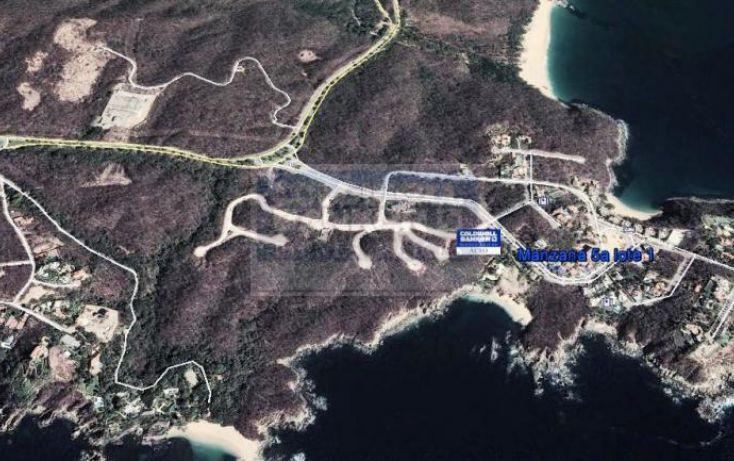Foto de terreno habitacional en venta en avenida 1, bahía de conejo, santa maría huatulco, oaxaca, 750411 no 01