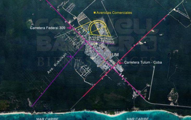 Foto de terreno habitacional en venta en avenida 1, villas tulum, tulum, quintana roo, 328856 no 01