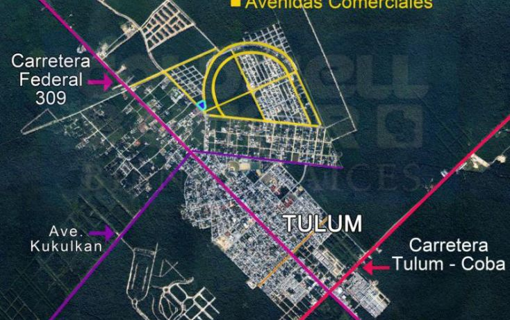 Foto de terreno habitacional en venta en avenida 1, villas tulum, tulum, quintana roo, 328856 no 02