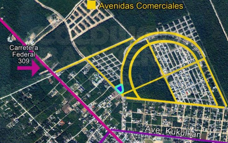 Foto de terreno habitacional en venta en avenida 1, villas tulum, tulum, quintana roo, 328856 no 03