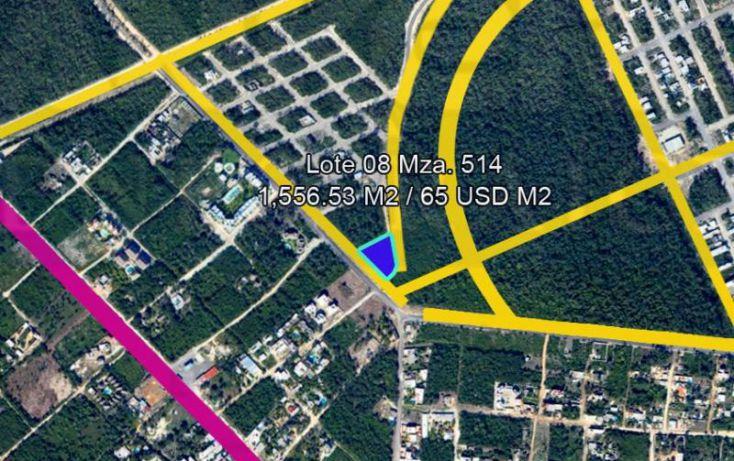 Foto de terreno habitacional en venta en avenida 1, villas tulum, tulum, quintana roo, 328856 no 04