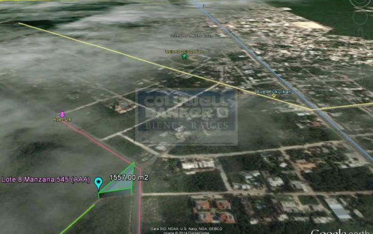Foto de terreno habitacional en venta en avenida 1, villas tulum, tulum, quintana roo, 328856 no 05