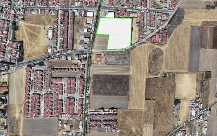Foto de terreno habitacional en venta en  , rancho san lucas, metepec, méxico, 1849298 No. 01