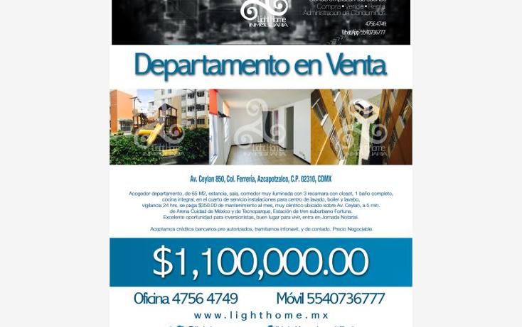 Foto de departamento en venta en avenida ceylán 850, ferrería, azcapotzalco, distrito federal, 2691946 No. 19