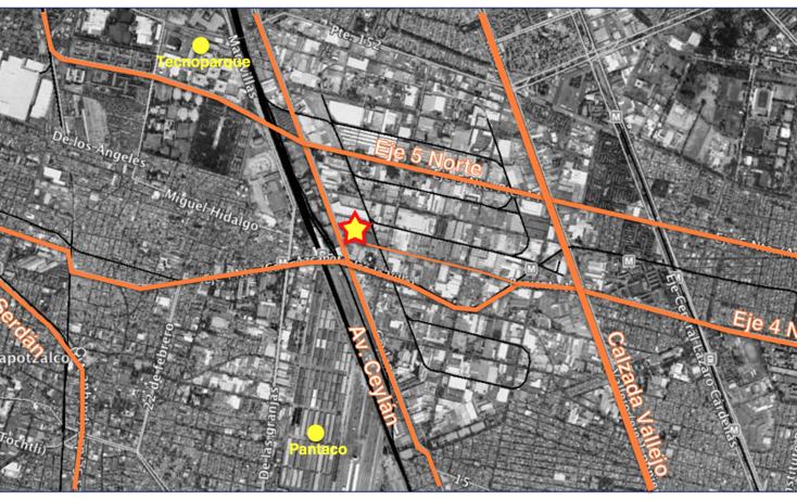 Foto de terreno habitacional en venta en avenida ceylan , industrial vallejo, azcapotzalco, distrito federal, 3431314 No. 01