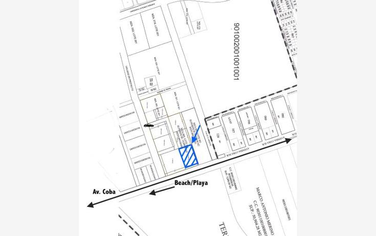 Foto de terreno comercial en venta en avenida coba smls131, tulum centro, tulum, quintana roo, 523021 No. 02