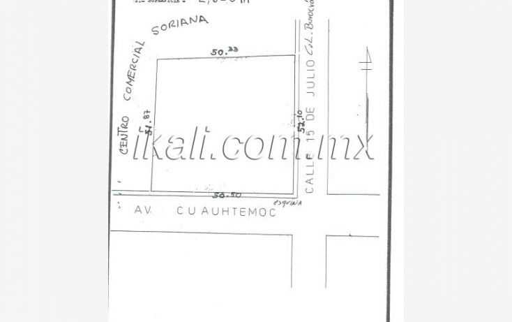 Foto de terreno comercial en venta en avenida cuauhtemoc, tropicana, tuxpan, veracruz, 961445 no 01