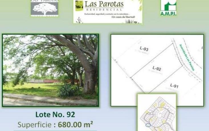 Foto de terreno habitacional en venta en avenida de las parotas 23, esmeralda, colima, colima, 774887 No. 01