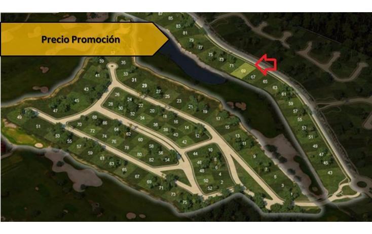 Foto de terreno habitacional en venta en avenida del jaguar 69 , yucatan, mérida, yucatán, 1719598 No. 01