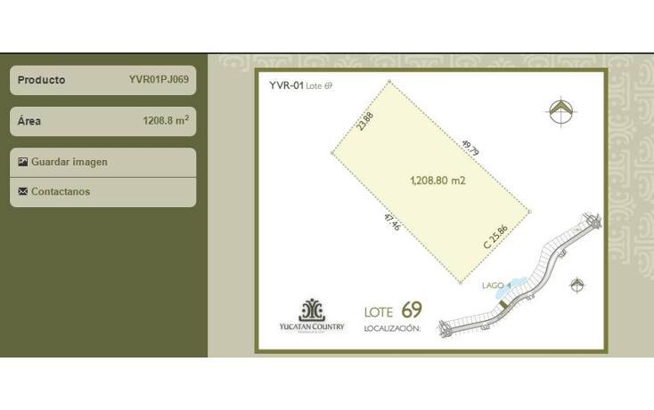 Foto de terreno habitacional en venta en avenida del jaguar 69 , yucatan, mérida, yucatán, 1719598 No. 03