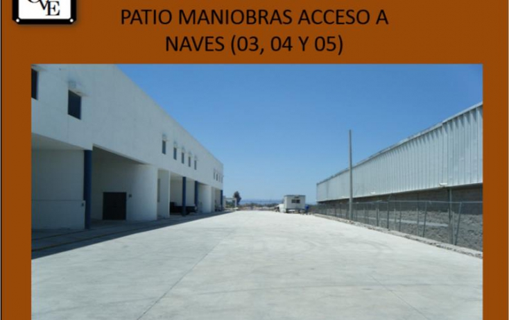 Foto de nave industrial en renta en avenida del marquez 36, parque industrial bernardo quintana, el marqués, querétaro, 727465 no 02