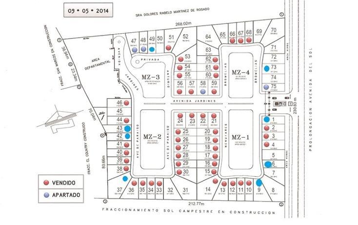 Foto de terreno habitacional en venta en avenida del sol , el country, centro, tabasco, 455310 No. 07