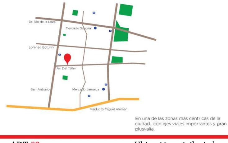 Foto de departamento en venta en avenida del taller 62, transito, cuauhtémoc, distrito federal, 1849340 No. 03