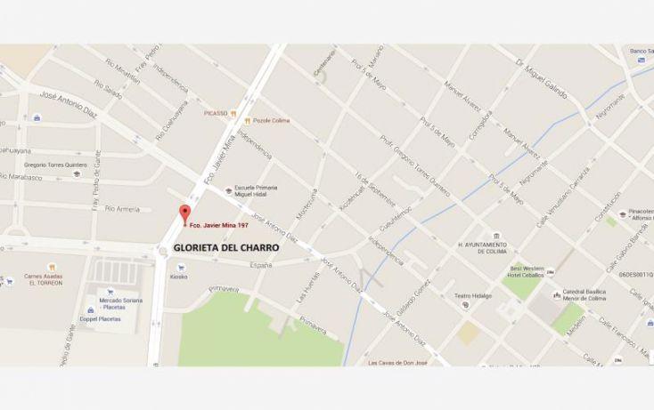 Foto de bodega en renta en avenida francisco javier mina 197, placetas estadio, colima, colima, 1212349 no 01