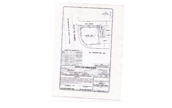 Foto de terreno comercial en venta en avenida fuentes del sol , casa digna, mexicali, baja california, 1468689 No. 03