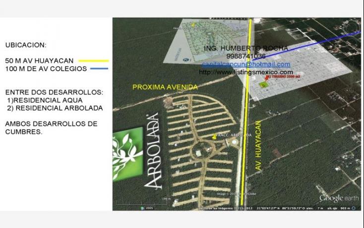 Foto de terreno comercial en venta en avenida huayacan 1, abc, benito juárez, quintana roo, 469752 no 02