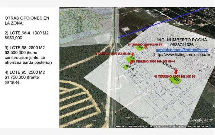 Foto de terreno comercial en venta en avenida huayacan 1, abc, benito juárez, quintana roo, 469752 no 04