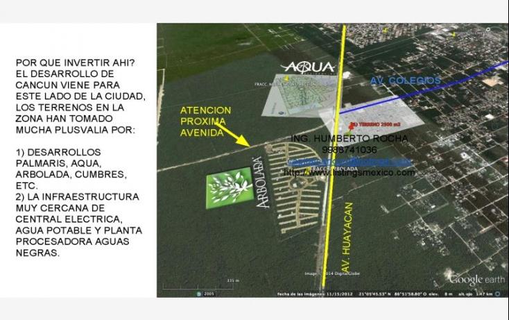 Foto de terreno comercial en venta en avenida huayacan 1, abc, benito juárez, quintana roo, 469752 no 05