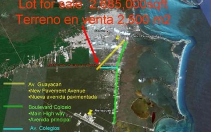 Foto de terreno comercial en venta en avenida huayacan 1, abc, benito juárez, quintana roo, 469752 no 11