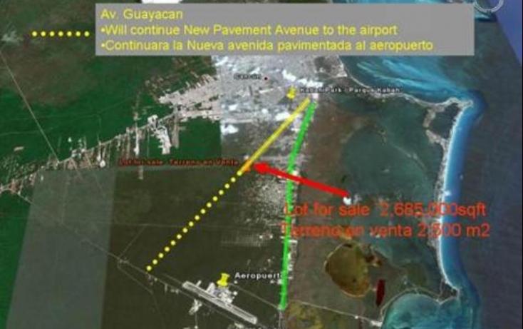 Foto de terreno comercial en venta en avenida huayacan 1, abc, benito juárez, quintana roo, 469752 no 12