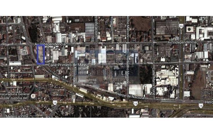 Foto de terreno habitacional en venta en  1304, independencia, toluca, méxico, 482051 No. 12